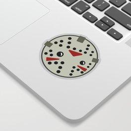 Jason Loves Fridays! Sticker
