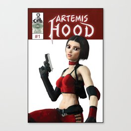 Artemis Hood - Issue 1 Cover Canvas Print