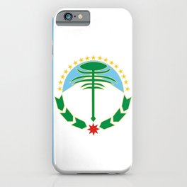 flag of Neuquen iPhone Case