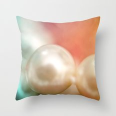 Pearl Delight Throw Pillow