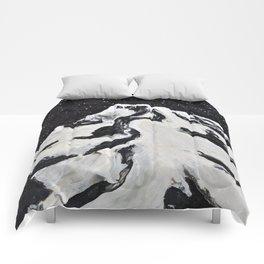 Mount Hood and Stars Comforters