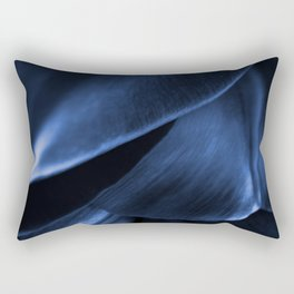 Succulent Leaf In Blue Color #decor #society6 #homedecor Rectangular Pillow