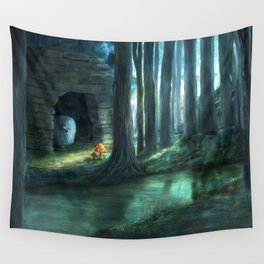 The Toadstools Wall Tapestry