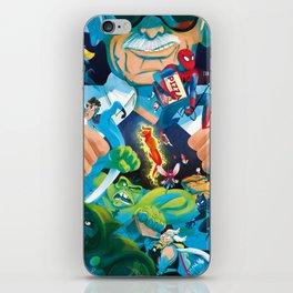 The Marvelous Mr. Lee iPhone Skin