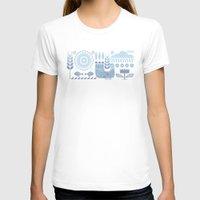 folk T-shirts featuring Folk II by Marta Olga Klara