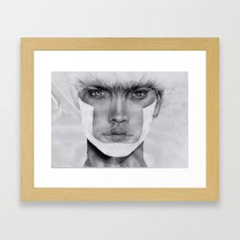 NATALIA  Framed Art Print
