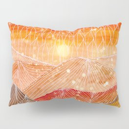 Lines in the mountains XXIV Pillow Sham