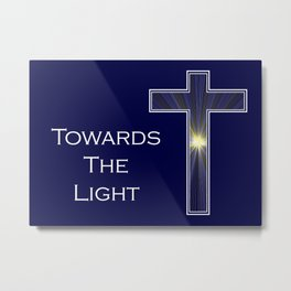 We are all drawn towards the light. Metal Print