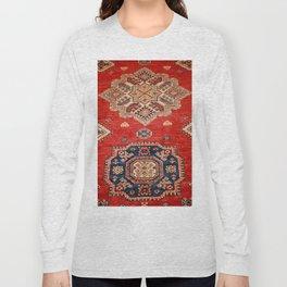 Natural Dyed Handmade Anatolian Carpet Long Sleeve T-shirt