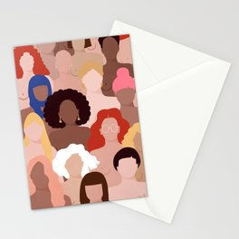 Who run the world? Stationery Cards