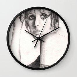 julie driscoll, hippie goddess... Wall Clock