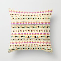 INDIE SUMMER Throw Pillow