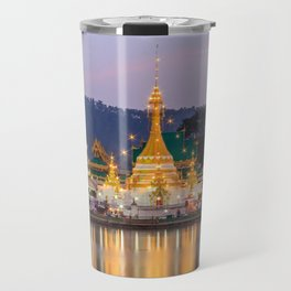 Wat Chong Khlang, Mae Hong Son, North Thailand Travel Mug