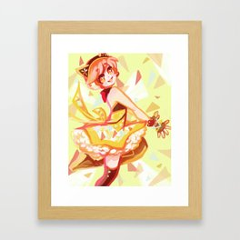 Rin Hoshizura Cyber set 1 of 3 series Framed Art Print
