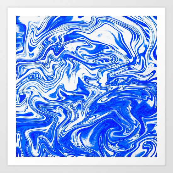 Marbled XX Art Print