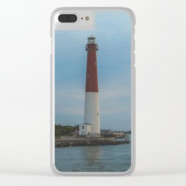 Barnegat Lighthouse Clear iPhone Case