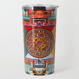 Buddhist Medicine Mandala 2 Travel Mug