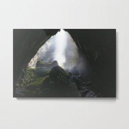 Doline in Son Doong Cave, Vietnam Metal Print
