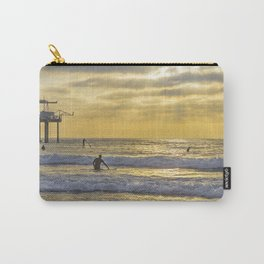 Surfing the Sun Rays Carry-All Pouch