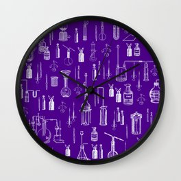 MAD SCIENCE 3 Wall Clock