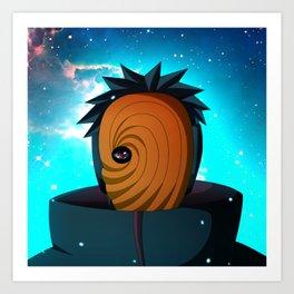 Naruto Obito Uchiha Art Print