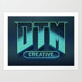 DTM-DOOM Art Print