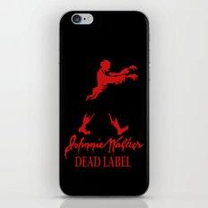 Johnny Walker Dead Label iPhone & iPod Skin