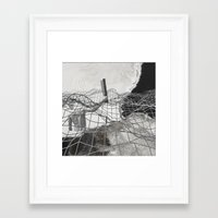 square Framed Art Prints featuring square by MAGIC DUST