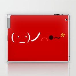 ( ・_・)ノ⌒●~* Bomb! Laptop & iPad Skin
