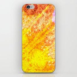 Autumn Sun Light iPhone Skin