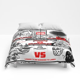 AN EXTRAVAGANZA OF INTERGALACTIC WRESTLING ACTION! Comforters