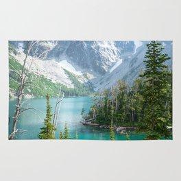 Lake Colchuck Rug