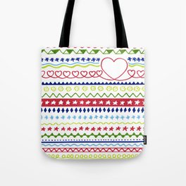 Classic Christmas pattern Tote Bag