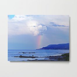 Love under the Rainbow Metal Print