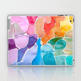 Rainbow glass Laptop & iPad Skin