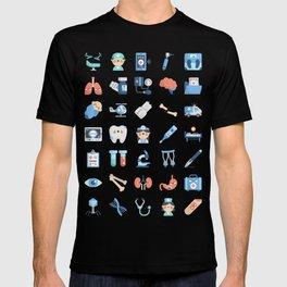CUTE MEDICINE / SCIENCE / DOCTOR PATTERN T-shirt