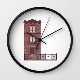 The Letter L Wall Clock