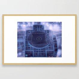 Prepare for landing Framed Art Print