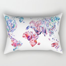 Crystal World Rectangular Pillow