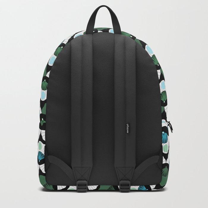 Green Vintage Backpack