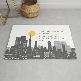 Escape from the City... Rug