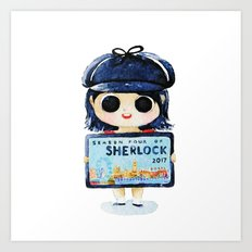 Sherlock 4 on 2017 Art Print