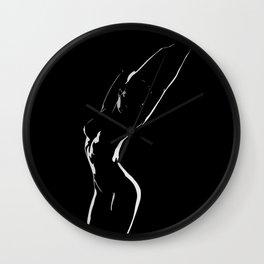 woman shadow female Wall Clock