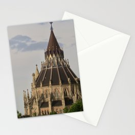 library of parliament ottawa Stationery Cards