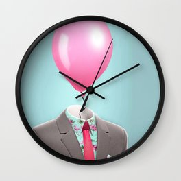 Balloon Head Wall Clock