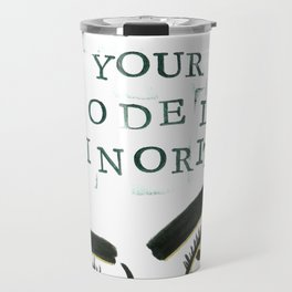 Not Your Model Minority V.2 Travel Mug