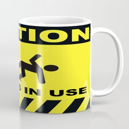 Tripod In Use Coffee Mug