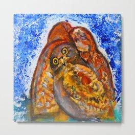Winter's Nest #society6   #decor #buy art Metal Print