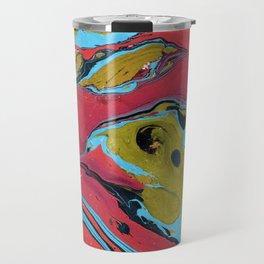 Marble texture 9 Travel Mug