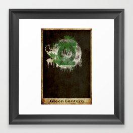 Lantern Logo Framed Art Print